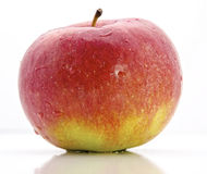 Apple. Red apple on a white background Royalty Free Stock Images