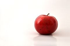 Apple. Red apple with white background Stock Photo