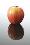 Apple and Reflection Stock Photography
