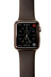 Apple regardent l'écran de visage de chronographe Photo libre de droits