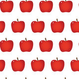 Apple repeatable seamless pattern Royalty Free Stock Photography