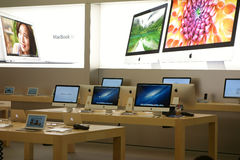 Apple retail store in Chengdu interior Royalty Free Stock Image