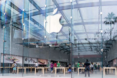 Apple Retail Store Royalty Free Stock Image