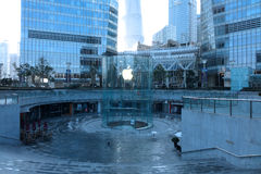 Apple retail store in Shanghai  lujiazui Stock Image