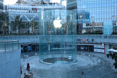 Apple retail store in Shanghai  lujiazui Stock Images