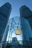Apple retail store in Shanghai  lujiazui Royalty Free Stock Images