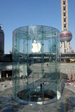 Apple retail store in Shanghai pudong Royalty Free Stock Photography