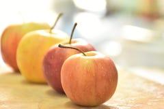 Apple-rij Stock Foto's