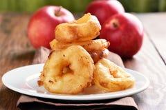 Apple rings, fruit baking Royalty Free Stock Photos