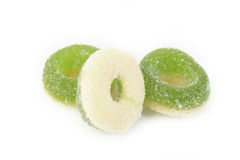 Apple rings Stock Photos