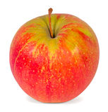 Apple. Ripe red Apple isolated on white background Royalty Free Stock Images