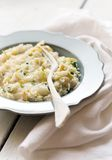 Apple risotto Stock Photo