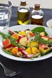 Apple,rocket and walnut salad Royalty Free Stock Photos