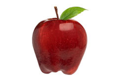 Apple rojo Foto de archivo libre de regalías