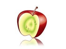 Apple rojo. Fotos de archivo