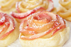 Apple rose Stock Image