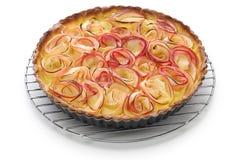 Apple rose tart Stock Photo