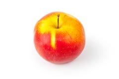 Apple rosso e giallo Fotografia Stock Libera da Diritti