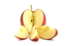 Apple rosso e verde Fotografie Stock