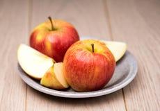 Apple rosso fresco Fotografie Stock