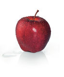 Apple rouge photos libres de droits