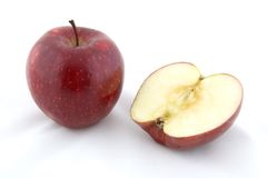 Apple rouge image stock
