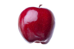 Apple rouge brillant images stock