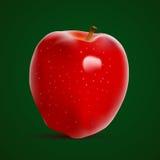 Apple rouge frais illustration libre de droits
