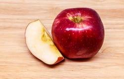 Apple rouge frais Photographie stock