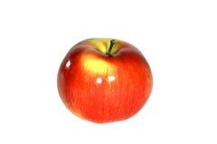 Apple rouge sur le fond blanc   Image libre de droits