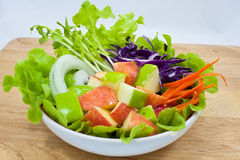 Apple salad Royalty Free Stock Images