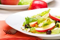 Apple salad Stock Photo