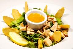 Apple-Salat Lizenzfreies Stockfoto