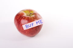 Apple for sale Royalty Free Stock Images
