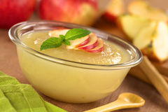 Apple Sauce Royalty Free Stock Photo