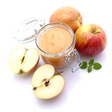 Apple sauce Stock Photo