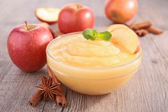 Apple sauce Royalty Free Stock Image