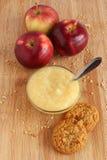 Apple sauce Royalty Free Stock Image