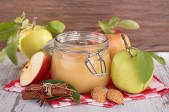 Apple sauce Royalty Free Stock Photography