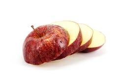 Apple-Scheiben Stockfoto