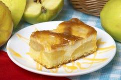 Apple Scherp met appel Stock Foto's