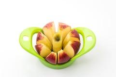 Apple-Schneider lizenzfreie stockfotos