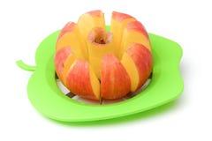 Apple-Schneider stockfoto