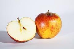 Apple schnitt lizenzfreies stockfoto
