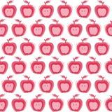 Apple Seamless background Stock Photos