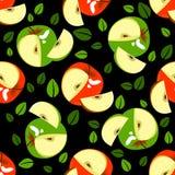 Apple seamless pattern Royalty Free Stock Image