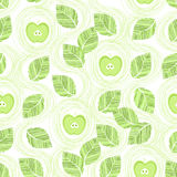 Apple seamless pattern Stock Images