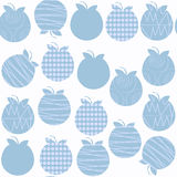 Apple seamless pattern. It is located in swatch menu, vector ima. Ge. Bright illustration. Colorful picture stock illustration