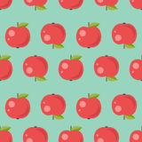 Apple seamless pattern Royalty Free Stock Photos
