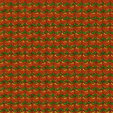 Apple Seamless pattern. Red apple seamless pattern on grunge wallpaper royalty free illustration